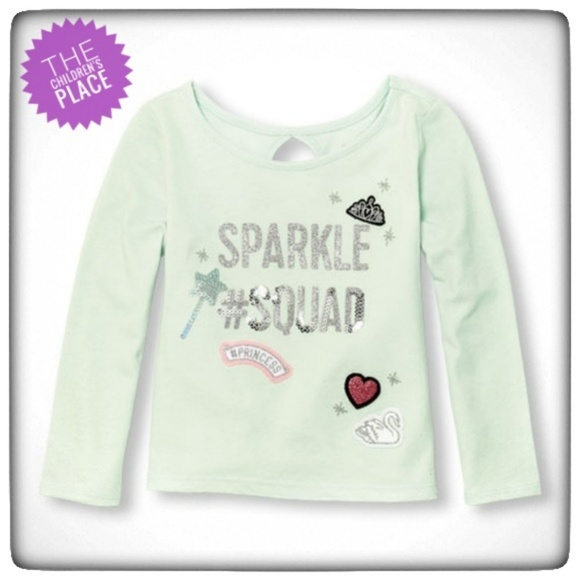 6664f4523 The Children's Place Shirts & Tops   Host Pick Girl Long Sleeve ...
